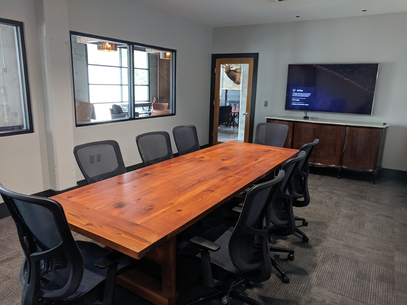 the lodge conference room